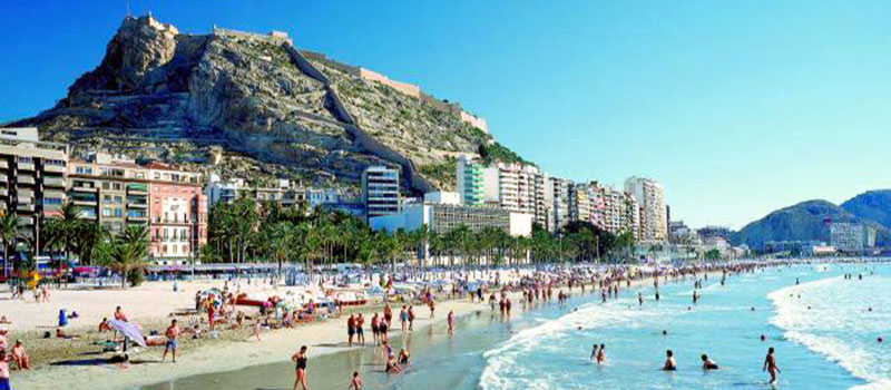 mooi weer in alicante costa blanca - weather costa blanca - tiempo costa blanca