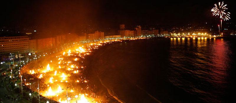 bonfires san juan alicante costa blanca hogueras