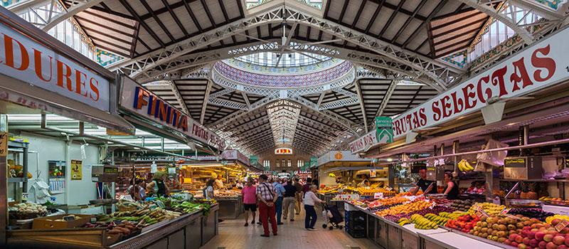 plaatselijke markt valencia - mercado central valencia - local market valencia